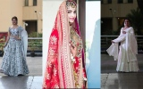 Photo: Sonam Kapoor in her bridal outfit leaves for her wedding