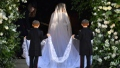 الصورة: Duchess Meghan's 'human' wedding gown