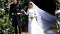 Photo: Duchess Meghan wanted wedding dress to 'represent' change