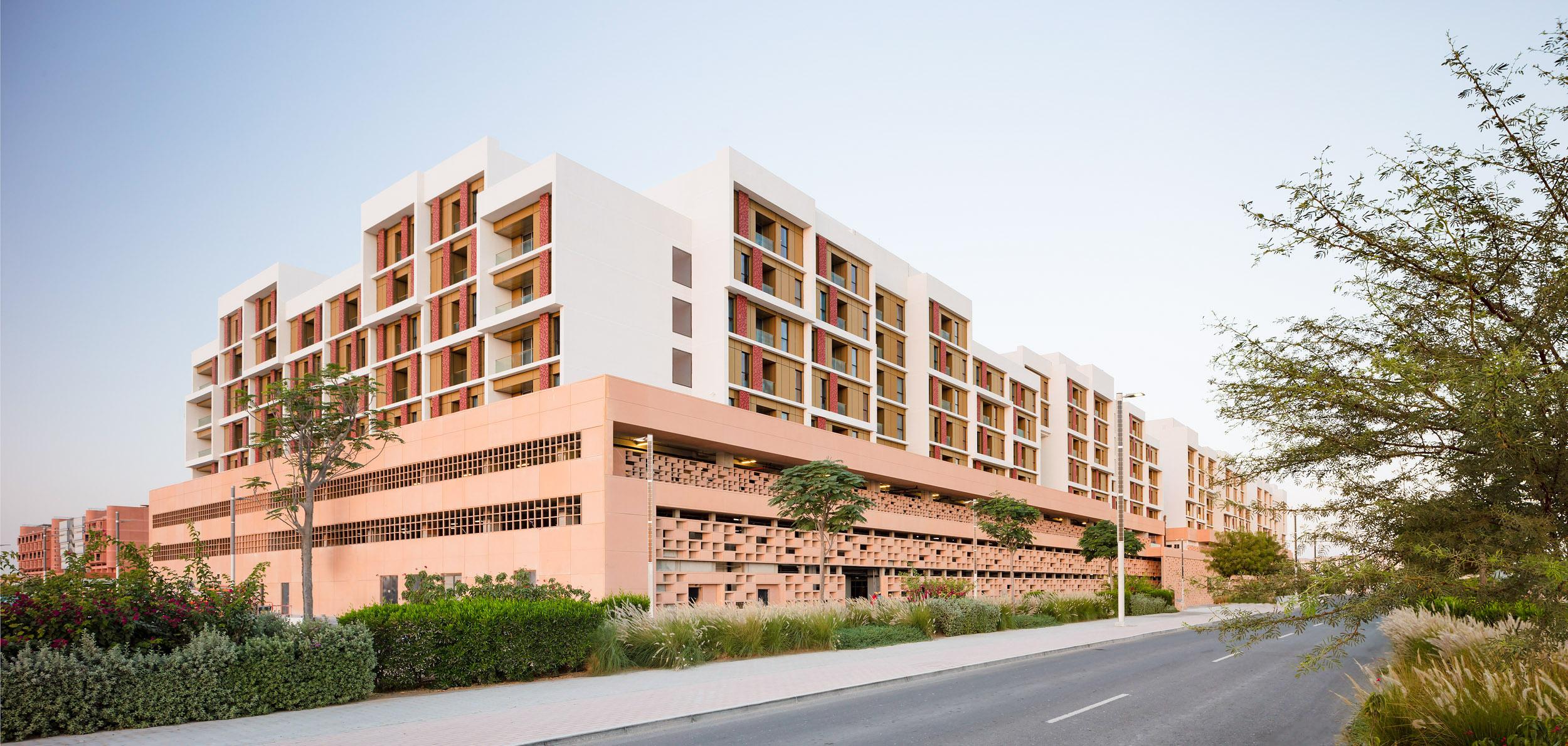Masdar City's Etihad Eco-Residence wins EmiratesGBC MENA Green