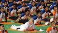 الصورة: Tens of thousands join Indian leader for world yoga day