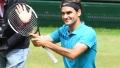 الصورة: Federer beats Kudla to reach 12th Halle final