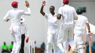الصورة: West Indies dismiss Bangladesh for record Test low of 43