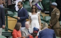 Photo: Pregnant Pippa Middleton at Wimbledon