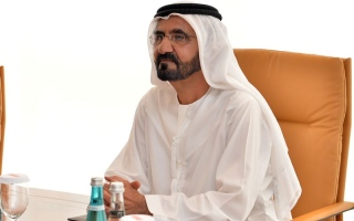 Photo: Sheikh Mohammed orders Jebel Ali Lehbab Road to be renamed Expo Road