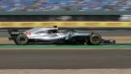 الصورة: Hamilton leads Bottas as Mercedes top first practice