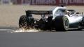 الصورة: Hamilton back on top in final practice as Hartley survives big crash