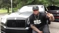 الصورة: 50 Cent 'bought himself a Rolls-Royce for his birthday