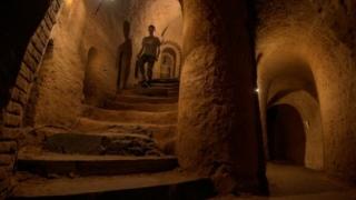 الصورة: 'Heaven-guided' underground maze proves Armenian tourist draw