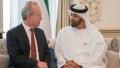 الصورة: Mohamed bin Zayed receives Chairman and CEO for Raytheon Company