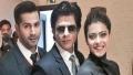 الصورة: Varun shaves a brand off SRK