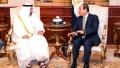 الصورة: Mohamed bin Zayed, el-Sisi discuss bilateral relations