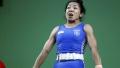 الصورة: India's world champion weightlifter out of Asian Games