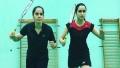 الصورة: Shraddha's still training for Saina