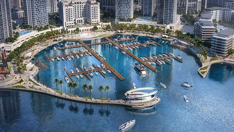 Dubai Creek Harbour To Unveil State Of The Art Creek Marina In