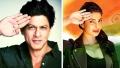 الصورة: Priyanka's salute to the other SRK