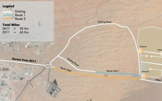 Photo: Gulftainer invests Dh11m in crucial road extension to fuel Sharjah's economy