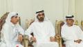 الصورة: Sheikh Mohammed offers condolences on death of Ali Al Subousi