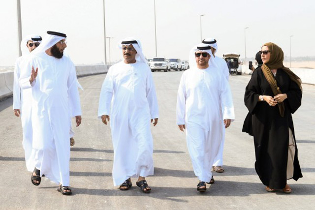 الصورة: Minister of Infrastructure Development launches next stage of Al Badiya Bridge Project