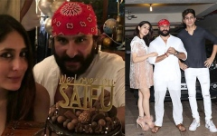 الصورة: Saif Ali Khan celebrates birthday with family