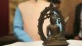 الصورة: UK police return Buddha statue to India 57 years after theft