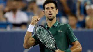 الصورة: Rain slows Djokovic in Cincy, Stephens ousted