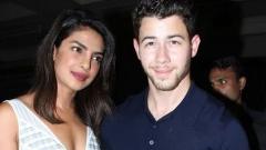 الصورة: Priyanka and Nick at 'meet the families dinner' before 'Roka'
