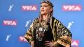 الصورة: Music world mourns Aretha Franklin at MTV video awards