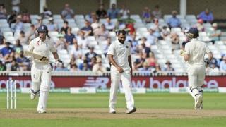 الصورة: England 311-9 at 4th day close against India, need 210 more to win
