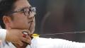 الصورة: Korean archer refuses to celebrate Asian Games gold