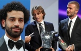 Photo: Modric wins best player in Europe vote; Beckham honored