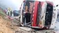 الصورة: Eleven killed in latest Ecuador bus crash