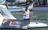 Photo: Salman Khan arrives on a speed boat at Bigg Boss 12 press conference