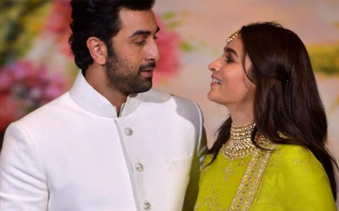 Celebrity Couples Ranbir and Alia