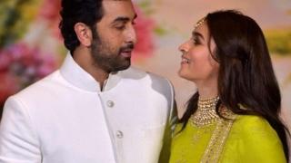 Photo: Alia feels shy talking about Ranbir!