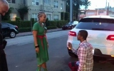 Photo: A traffic stop, and a proposal: She said yes in Miami Beach