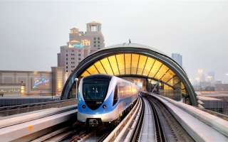 Photo: Dubai's public transportation system is a model of global sustainability: RTA