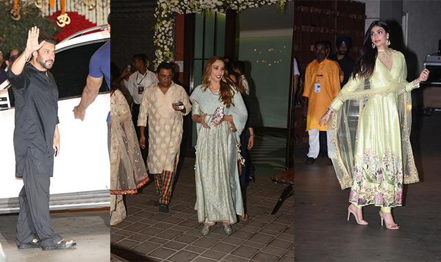 Ganesh Chaturthi 2018: Iulia Vantur, Athiya Shetty, Salman Khan...
