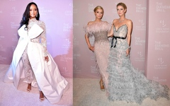 الصورة: Rihanna, Paris Hilton at Diamond Ball in NYC