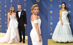 الصورة: Emmys fashion: white-hot, glamorous and political