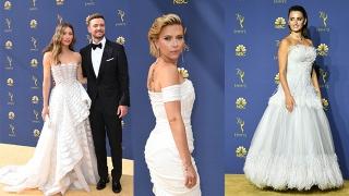 الصورة: Emmys fashion: white-hot, glamorous and political