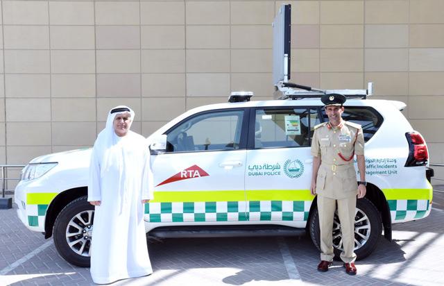 الصورة: Vehicle-monitoring traffic incident management system launched in Dubai