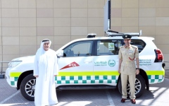 الصورة: Vehicle-monitoring traffic incident management system launched in Dubai