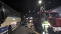 الصورة: 5 die in bus collision in Russia; 20 injured