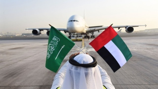 الصورة: Emirates celebrates Saudi National Day with special one-off A380 flight to Riyadh