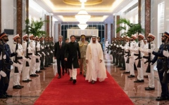 الصورة: Statement on Pak-UAE relations on official visit of PM of Pakistan to UAE