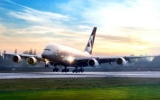 الصورة: Etihad Airways operates A380 to Maldives