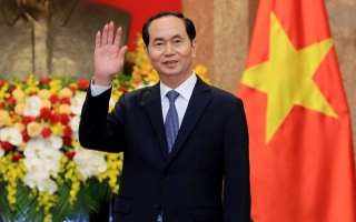 الصورة: Vietnamese President dies of illness