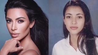 الصورة: KUWTK: Kim Kardashian West joked about her eyebrow mishaps
