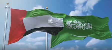 الصورة: Together Forever: UAE, Saudi Arabia celebrate 88th Saudi National Day